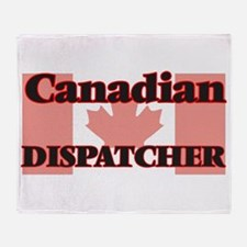 Canadian Dispatcher Throw Blanket