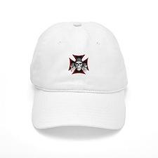 Skulls Iron Cross Baseball Cap