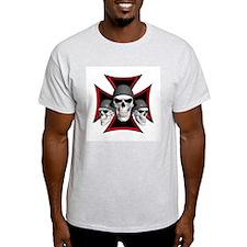 Skulls Iron Cross T-Shirt
