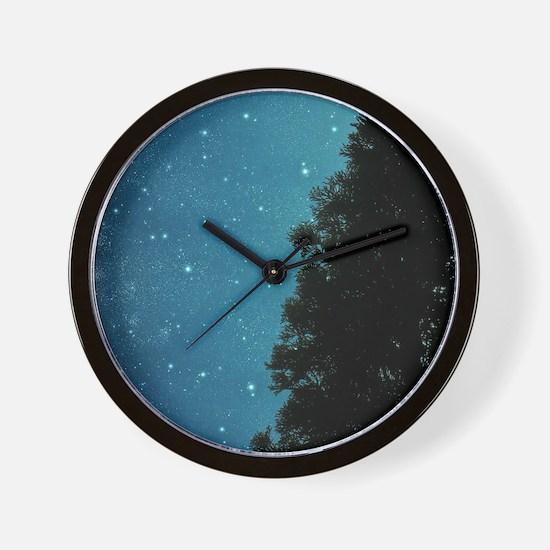 Star Light, Star Bright Wall Clock