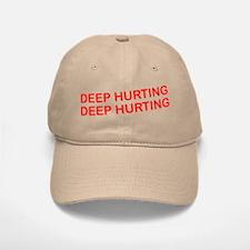 Deep Hurting Baseball Baseball Cap