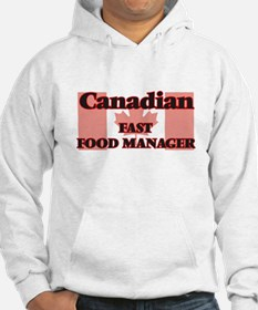 Canadian Fast Food Manager Hoodie