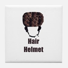 Hair Helmet Tile Coaster