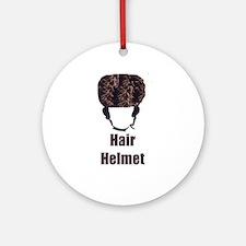 Hair Helmet Ornament (Round)