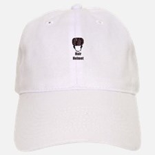 Hair Helmet Baseball Baseball Cap