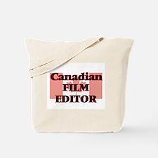 Canadian Film Editor Tote Bag