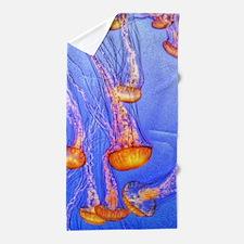 Amazing Jellyfish Beach Towel