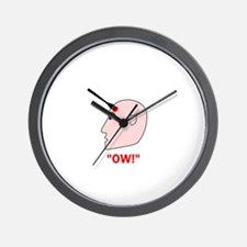 Ow! Wall Clock