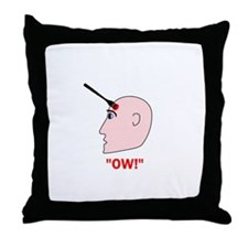 Ow! Throw Pillow