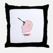 Ow! Throw Pillow
