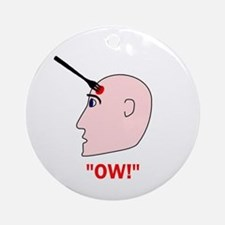 Ow! Ornament (Round)