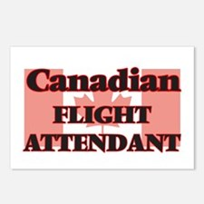 Canadian Flight Attendant Postcards (Package of 8)