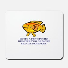 Some Species Require 2 or Mor Mousepad