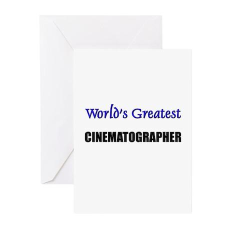 Worlds Greatest CINEMATOGRAPHER Greeting Cards (Pk