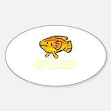 Some Species Require 2 or Mor Oval Decal