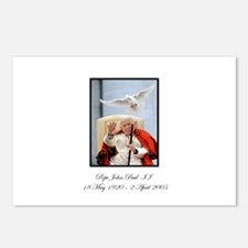 Pope John Paul II with Dove Postcards (Package of