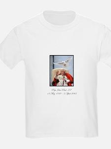 Pope John Paul II with Dove T-Shirt