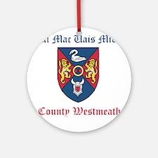 Ui Mac Uais Mide - County Westmeath Round Ornament