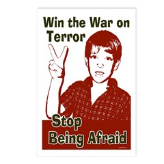 Win the War on Terror Postcards