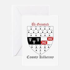 Ui Geintich - County Kilkenny Greeting Cards