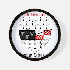 Ui Geintich - County Kilkenny Wall Clock