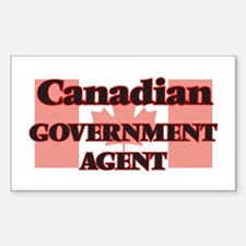 Canadian Government Agent Decal