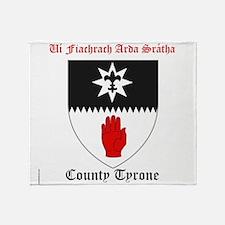 Ui Fiachrach Arda Sratha - County Tyrone Throw Bla