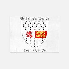 Ui Felmeda Tuaidh - County Carlow 5'x7'Area Rug