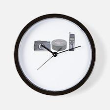 Camera Phone Wall Clock