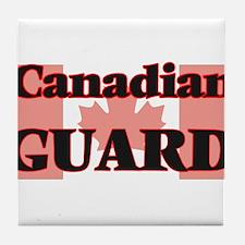 Canadian Guard Tile Coaster