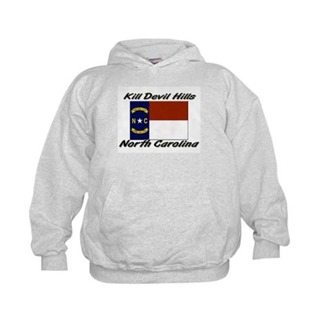 Kill Devil Hills North Carolina Kids Hoodie