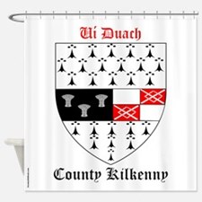 Ui Duach - County Kilkenny Shower Curtain