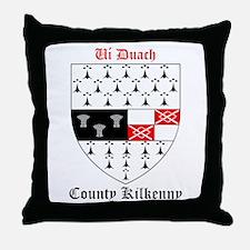 Ui Duach - County Kilkenny Throw Pillow