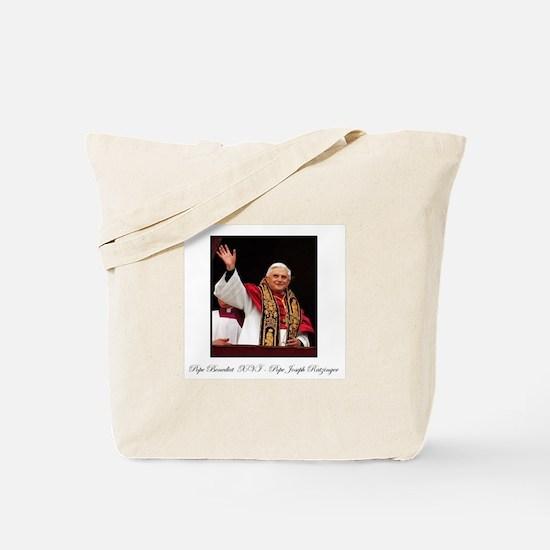 Pope Benedict XVI - Joseph Ra Tote Bag