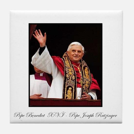 Pope Benedict XVI - Joseph Ra Tile Coaster