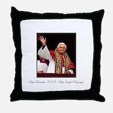 Pope Benedict XVI - Joseph Ra Throw Pillow