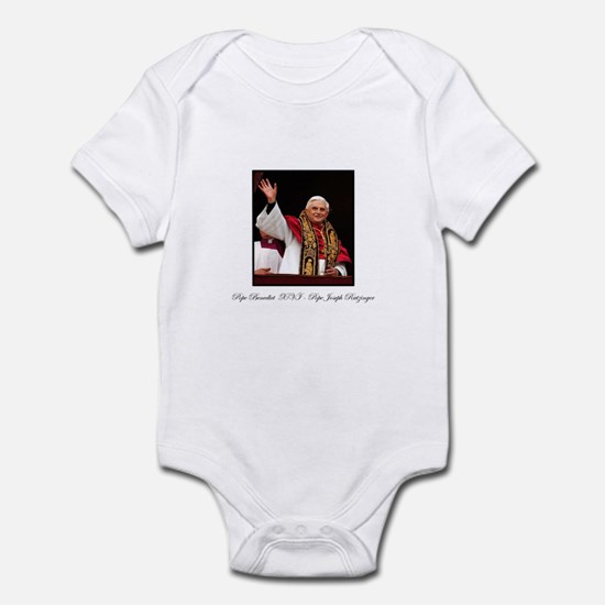 Pope Benedict XVI - Joseph Ra Infant Bodysuit