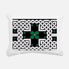 Cute St patricks day lucky charm Rectangular Canvas Pillow