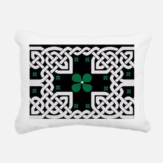 Cute 4 leaf clover Rectangular Canvas Pillow
