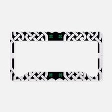 Cute 4 leaf clover License Plate Holder