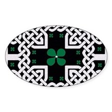 Funny Druids and celtic design with ivy leaf Decal