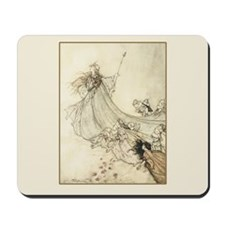 Fairies Away Mousepad