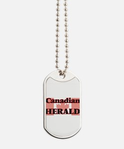 Canadian Herald Dog Tags