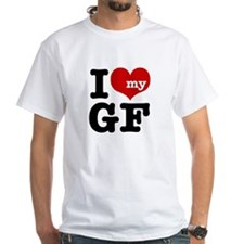 I Love My GF (Girlfriend) Shirt