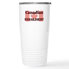 Canadian Heraldrist Travel Mug