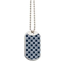 PENGUIN PLAID Dog Tags