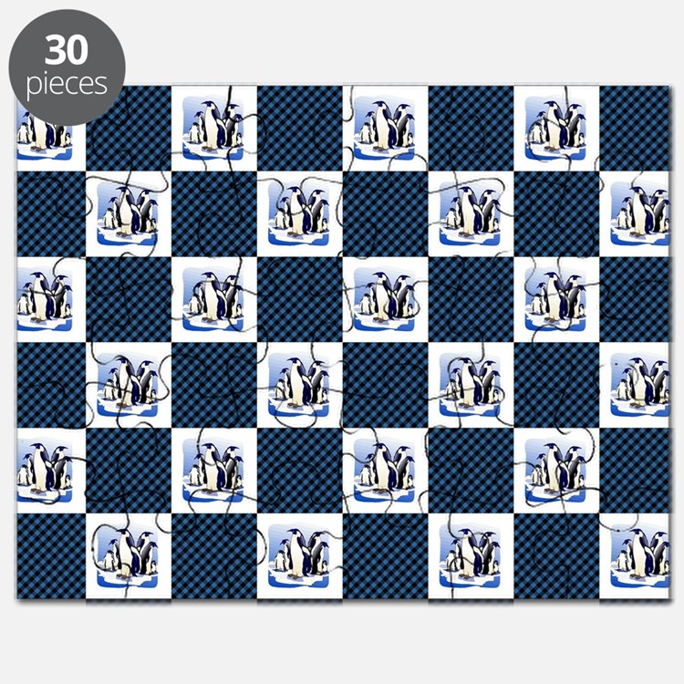 PENGUIN PLAID Puzzle