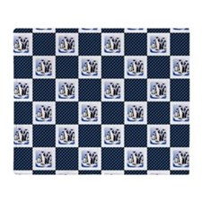PENGUIN PLAID Throw Blanket