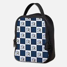 PENGUIN PLAID Neoprene Lunch Bag