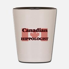 Canadian Hippologist Shot Glass